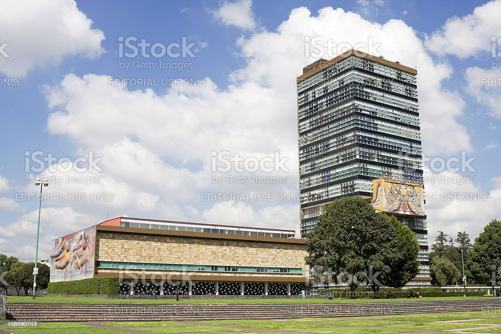 Rectorate Tower royalty-free stock photo