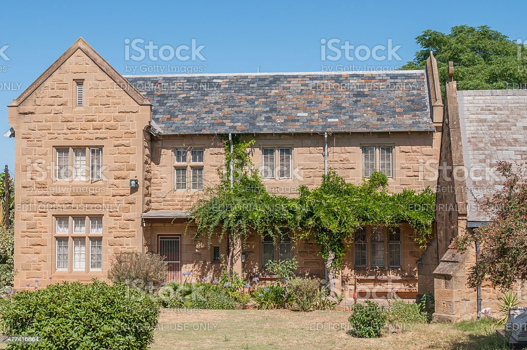 Rectory of the St. Judes Anglican Church stock photo