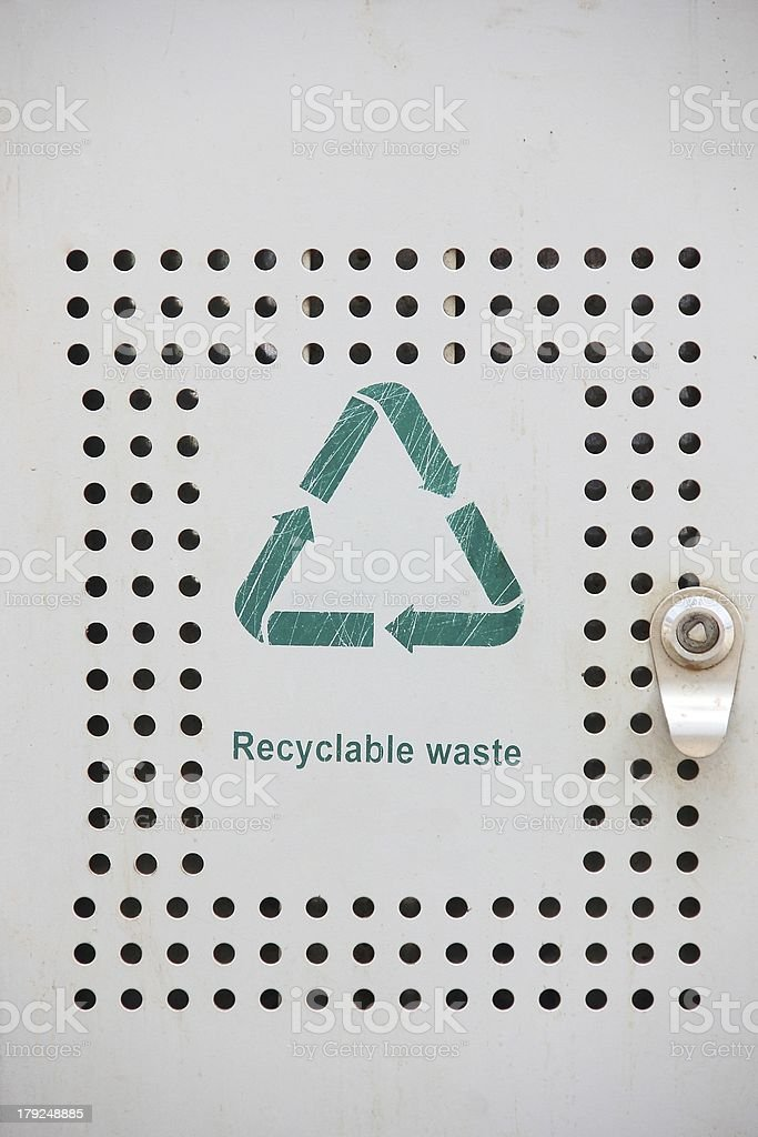 Recyclable Waste royalty-free stock photo