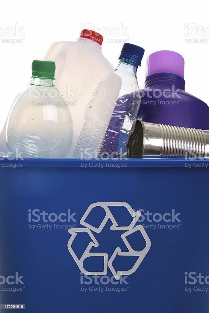 Recyclables royalty-free stock photo