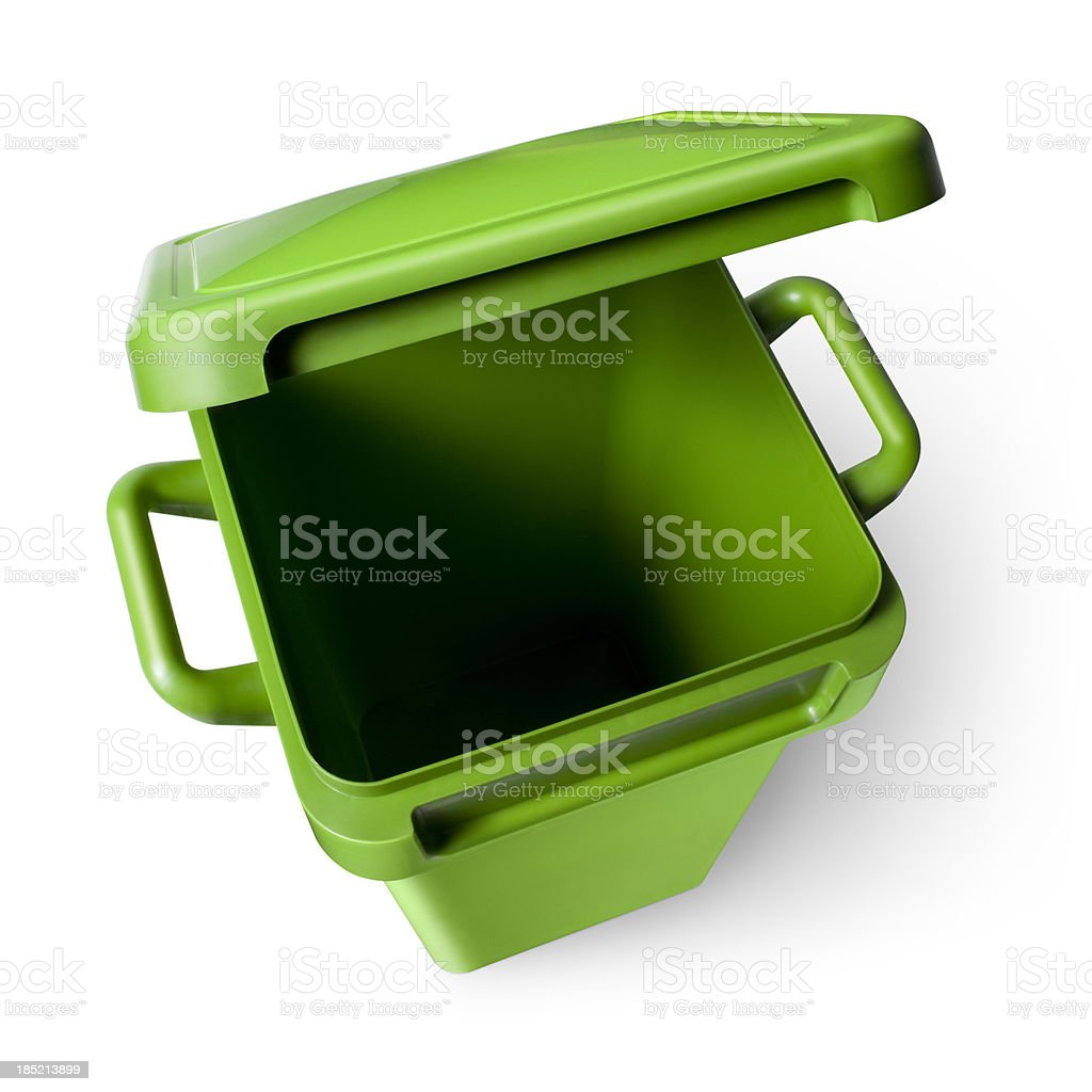 Recycle bin royalty-free stock photo