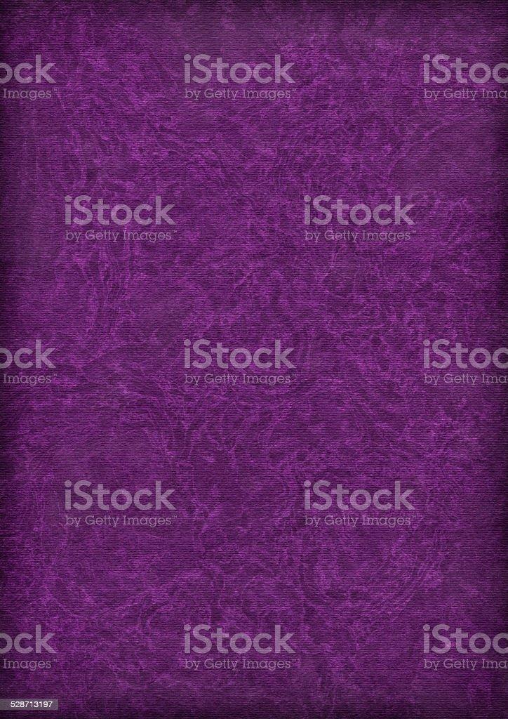 Recycle Dark Purple Striped Pastel Paper Vignette Bleached Grunge Texture stock photo