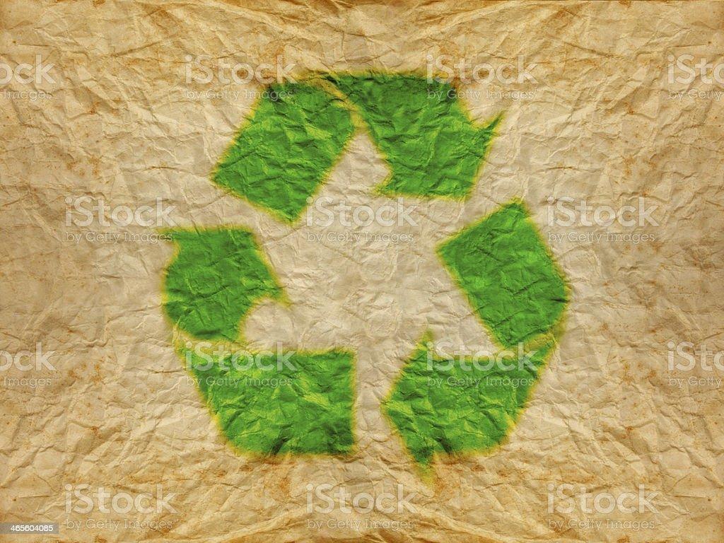 recycle logo royalty-free stock photo