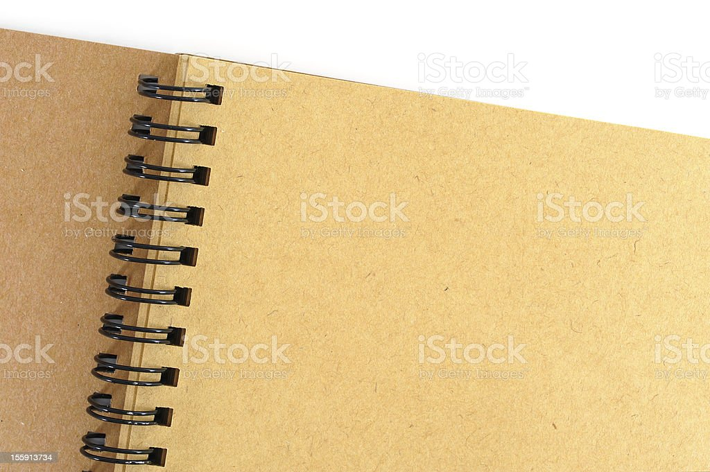 Recycle notebook royalty-free stock photo