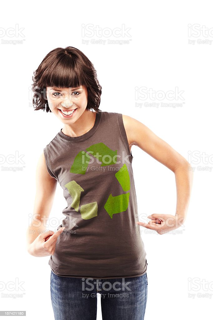 Recycle! royalty-free stock photo