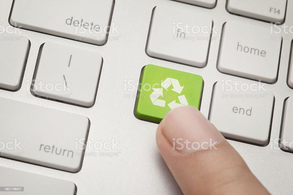 Recycle! stock photo
