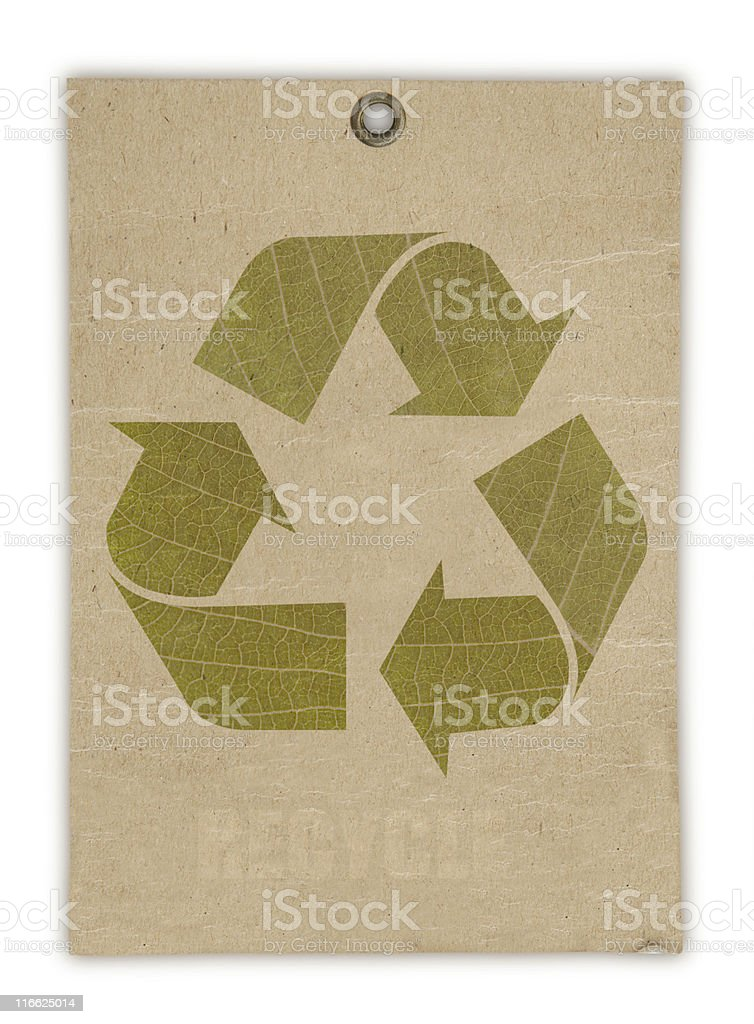 Recycle Symbol. royalty-free stock photo