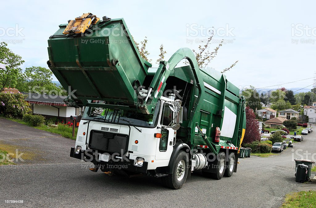 Recycle & Yard Waste Management royalty-free stock photo