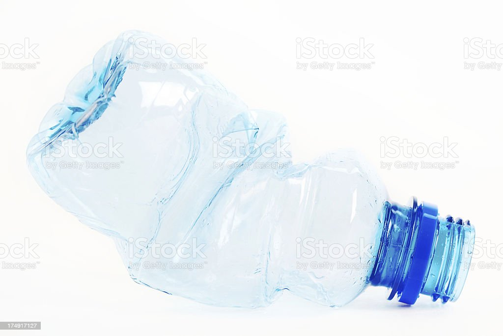 recycled bottle royalty-free stock photo