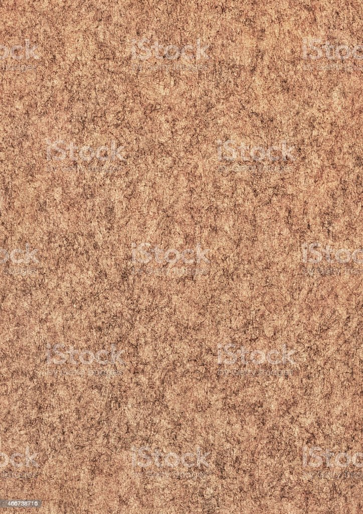 Recycled Brown Kraft Paper Mottled Grunge Texture stock photo
