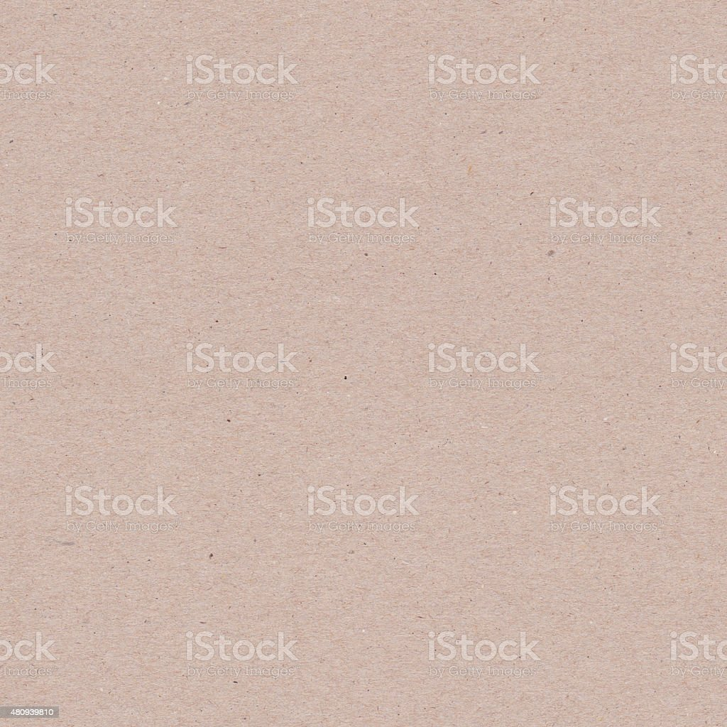 Recycled Brown Paper Texture - Seamless stock photo