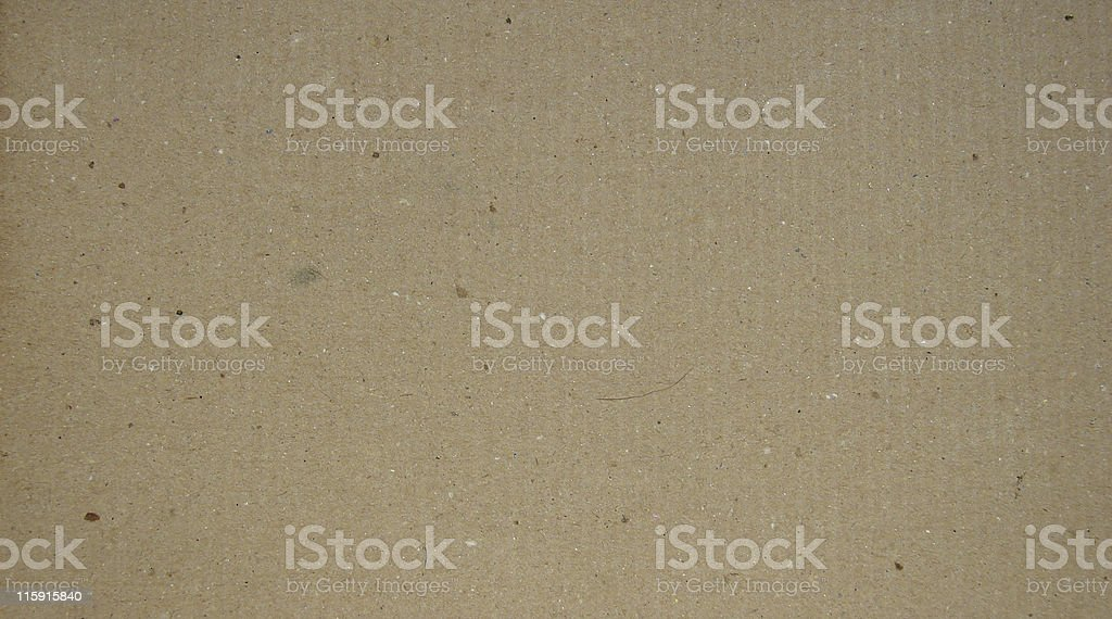 Recycled cardboard - save a tree royalty-free stock photo
