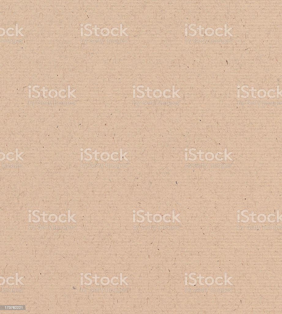 recycled cardboard with ribbed pattern royalty-free stock photo