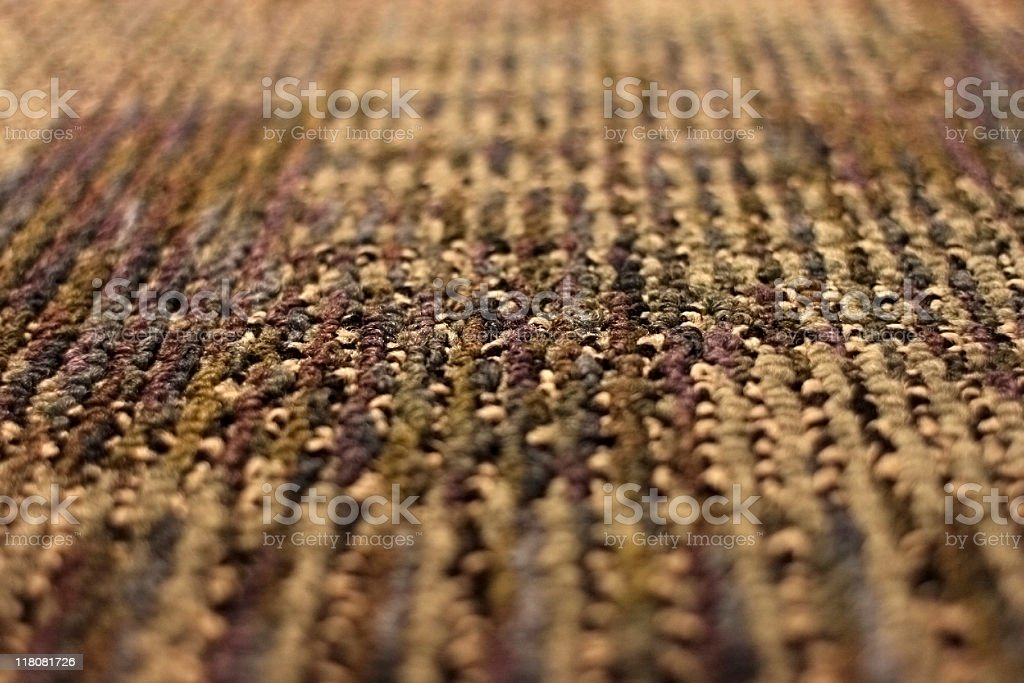 Recycled Carpet Made From Plastic Bottles stock photo