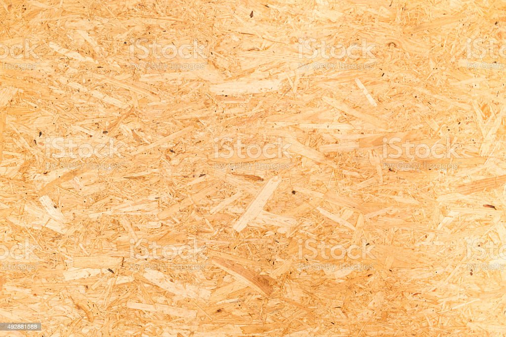 Recycled compressed plywood board stock photo