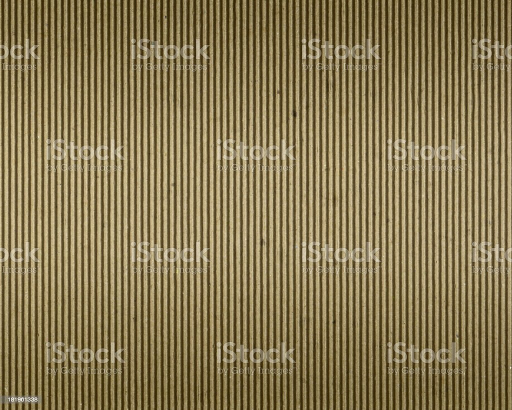 recycled corrugated cardboard royalty-free stock photo