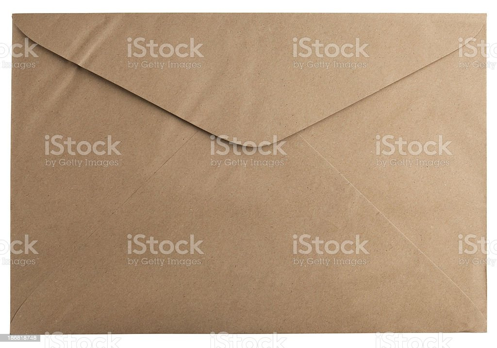 recycled envelope stock photo