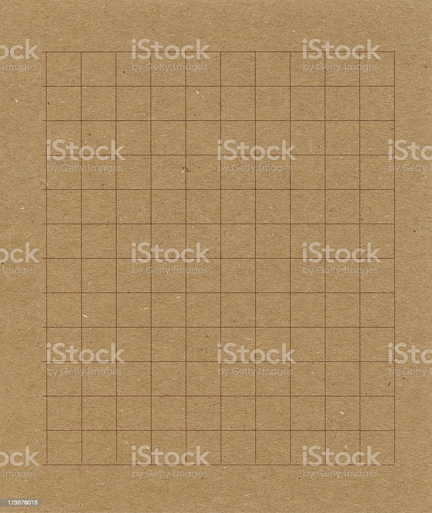 recycled graph paper royalty-free stock photo