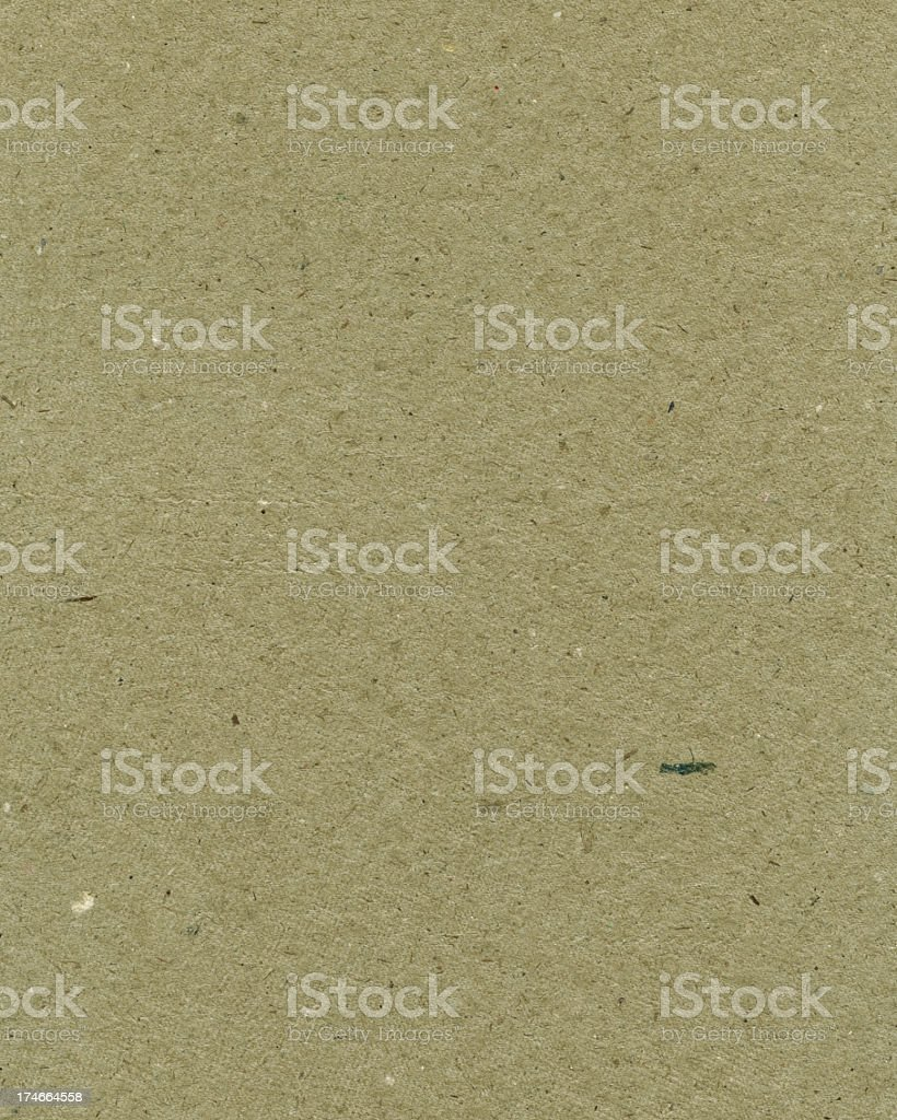 recycled green paper with particles royalty-free stock photo