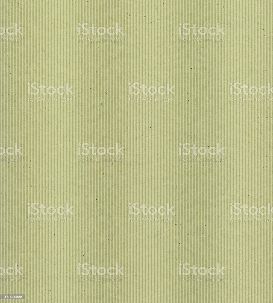 recycled green paper with stripe stock photo