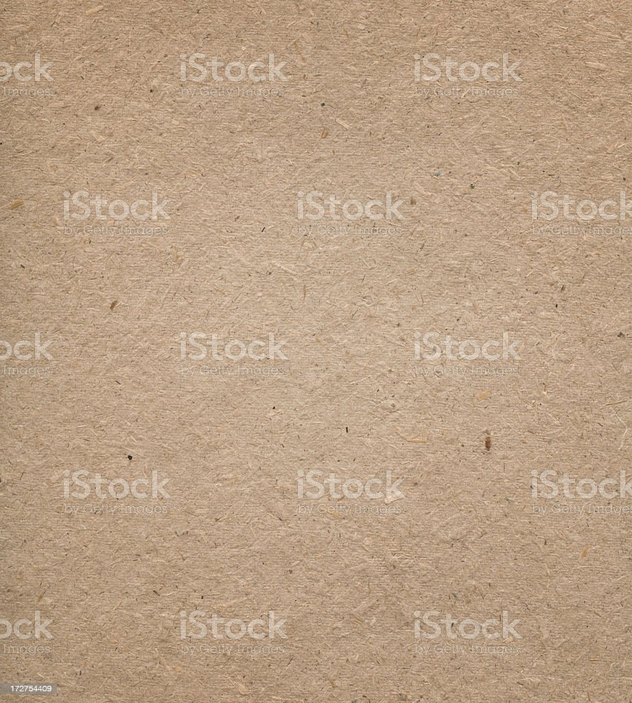 recycled kraft paper royalty-free stock photo