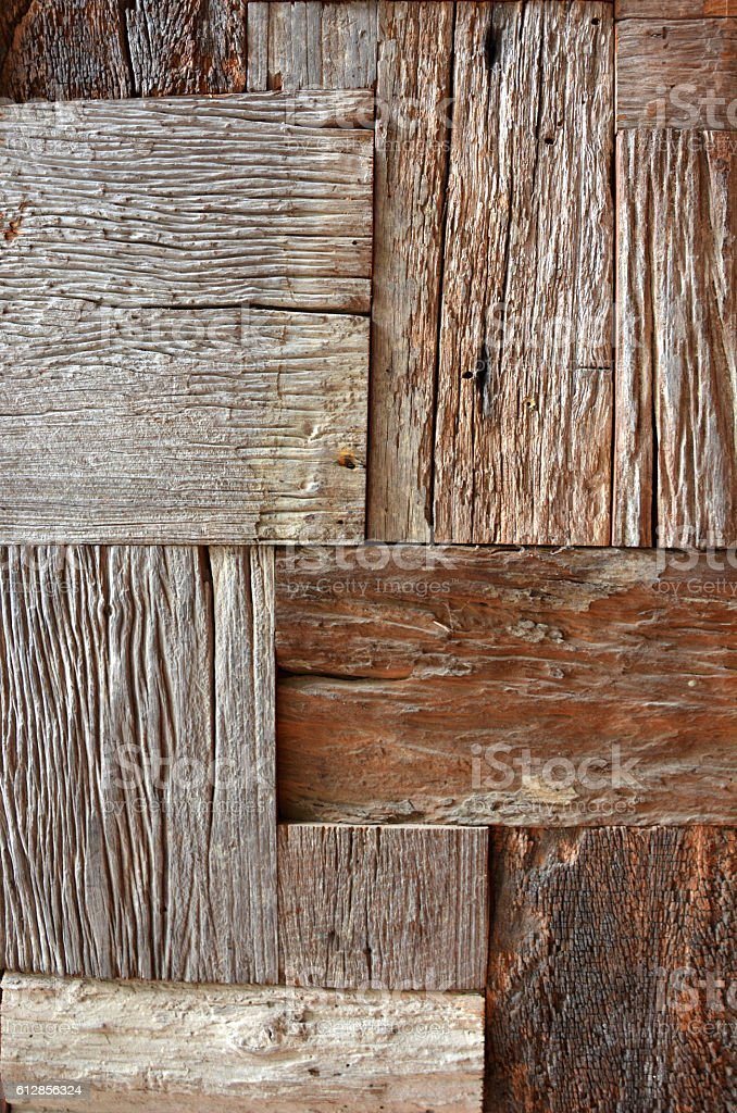 recycled old brown square wood texture background royalty-free stock photo