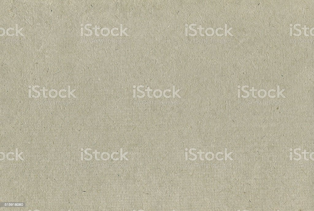 Recycled Paper Texture Pattern Background, Horizontal Pale Grey Copy Space stock photo