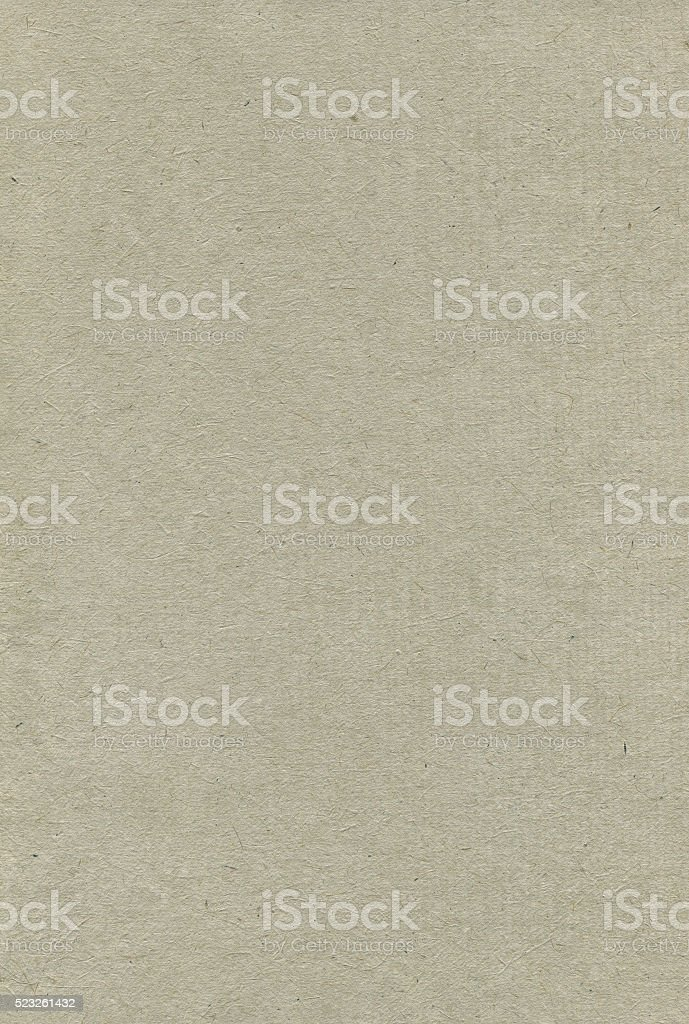 Recycled Paper Texture Pattern Background, Vertical Grey Tan Copy Space stock photo