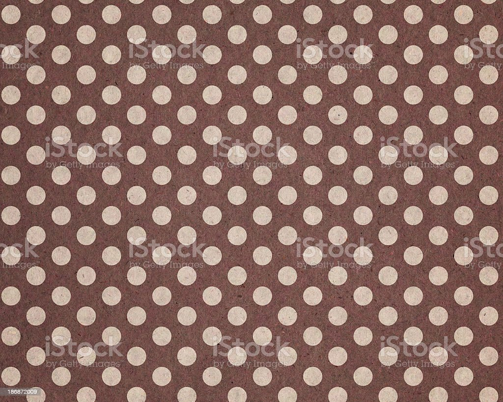 recycled paper with dot pattern royalty-free stock vector art