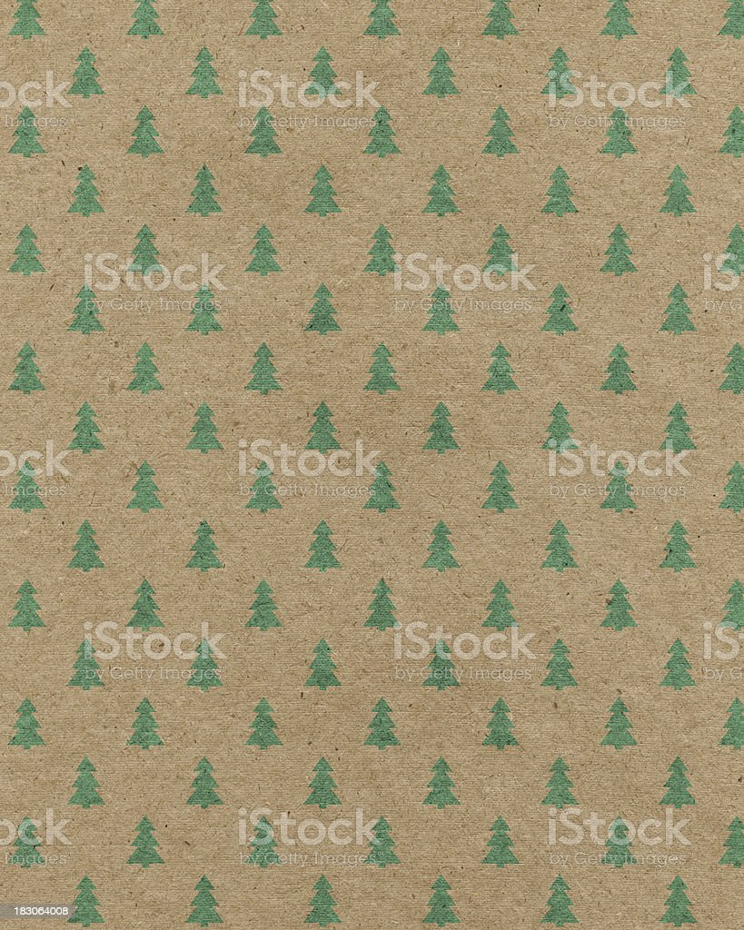 recycled paper with tree pattern royalty-free stock vector art