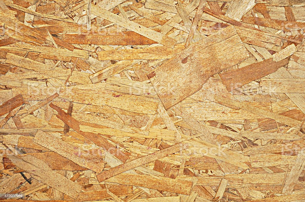 Recycled plywood board texture as background royalty-free stock photo