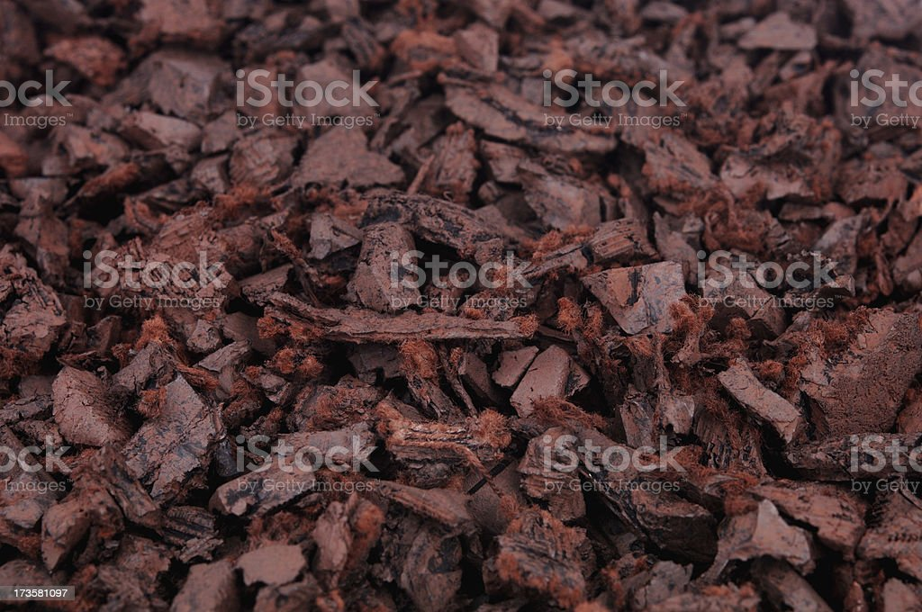 Recycled Rubber Mulch (XL) royalty-free stock photo