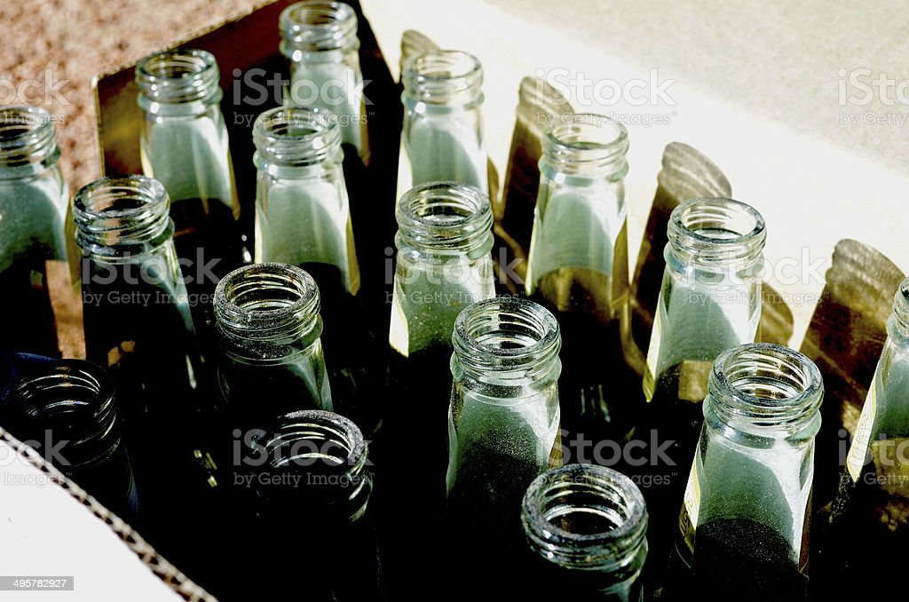 Recycling Bottles stock photo