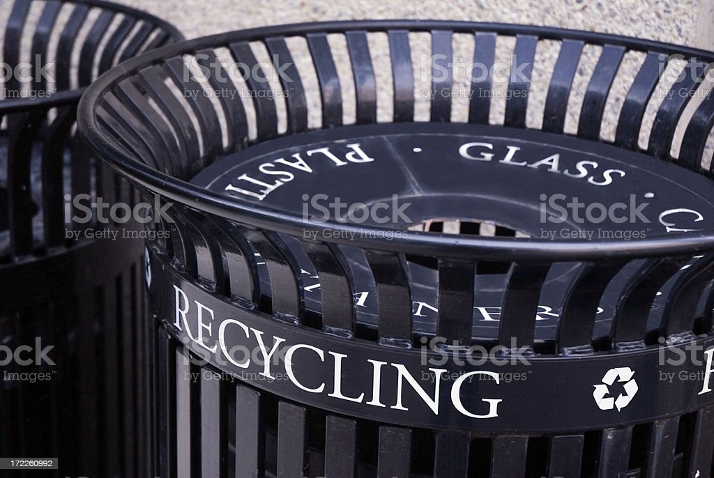 Recycling Can Closeup royalty-free stock photo