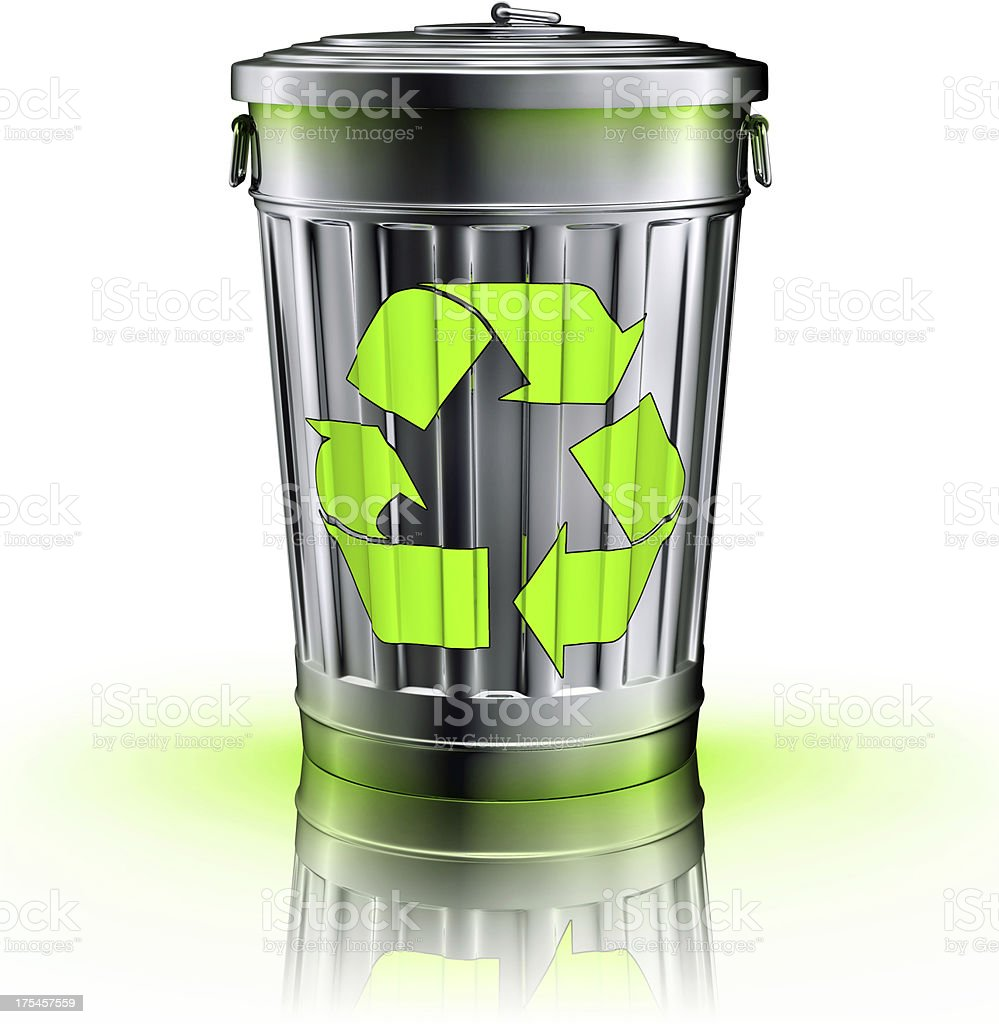 recycling concept stock photo