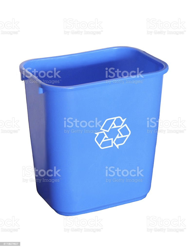 Recycling Container Isolated stock photo
