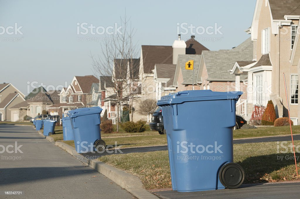 recycling day royalty-free stock photo