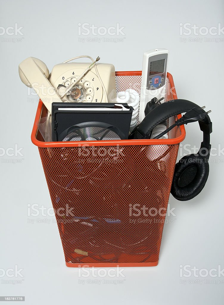 Recycling discard royalty-free stock photo