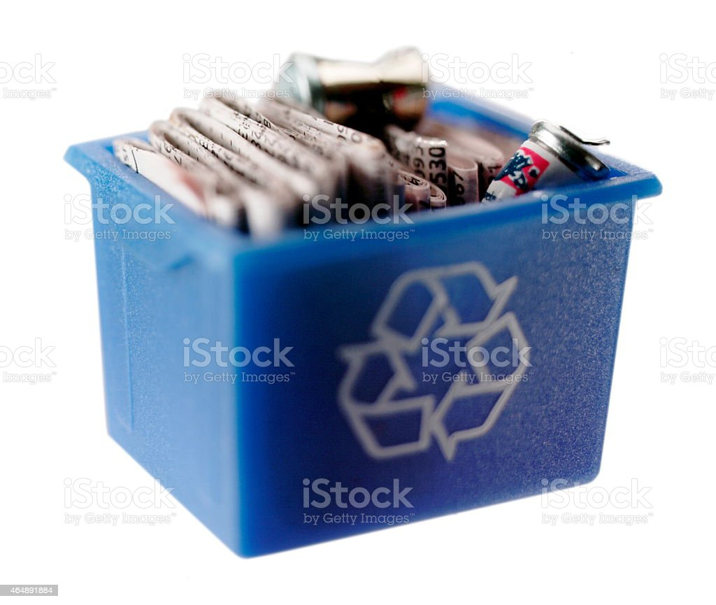 Recycling is Ready stock photo