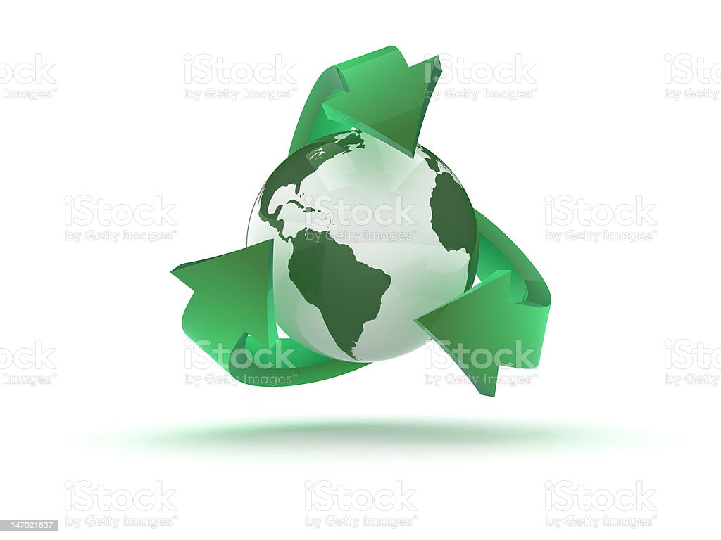 Recycling royalty-free stock vector art