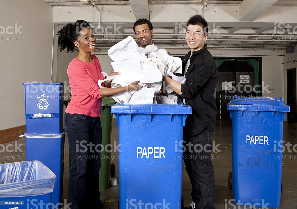 recycling! royalty-free stock photo