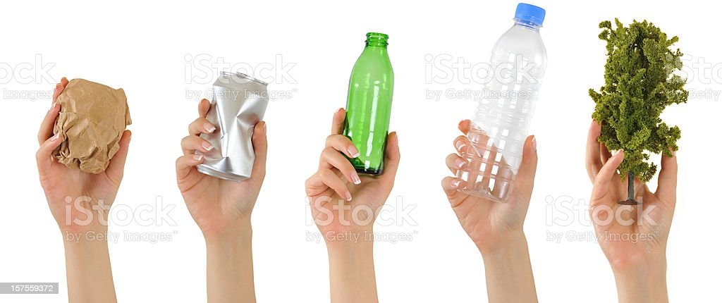 Recycling stock photo