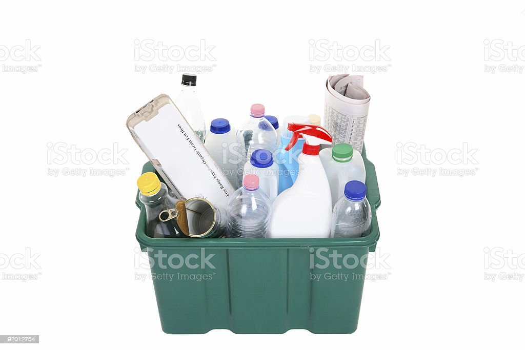 Recycling royalty-free stock photo