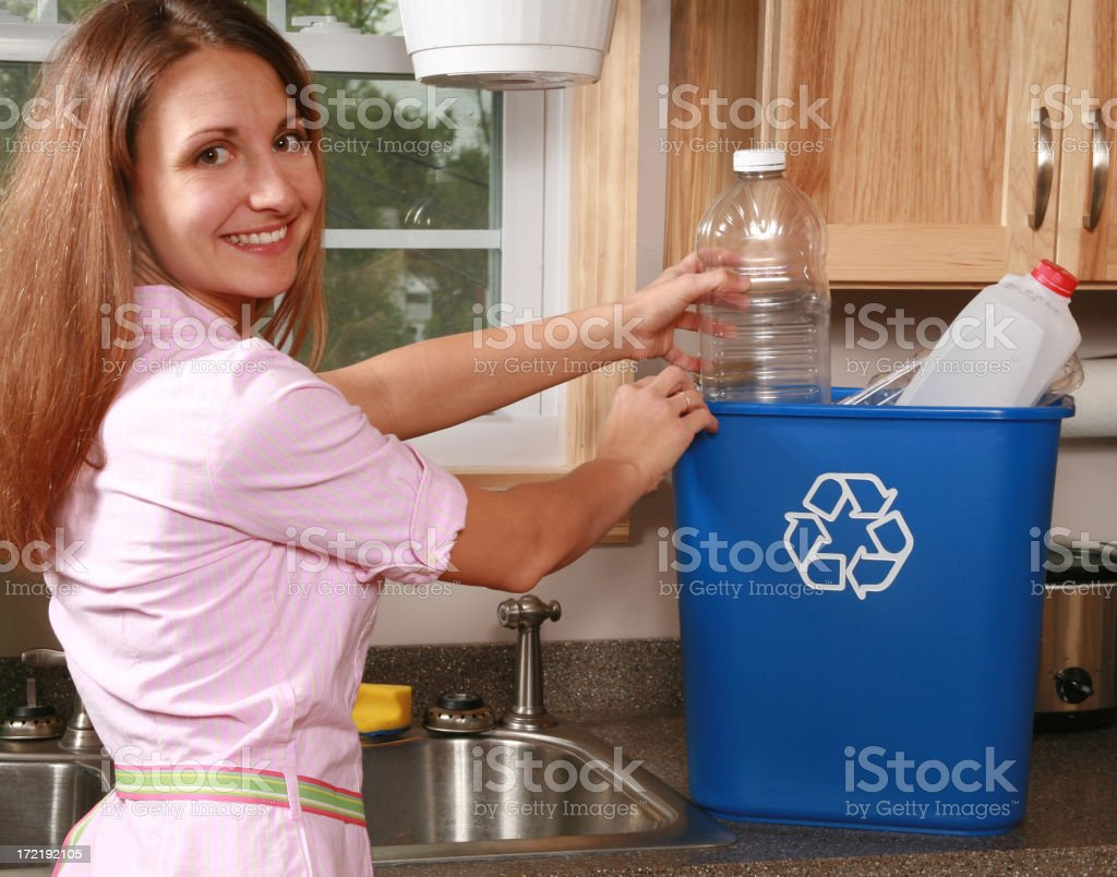 Recycling Plastic royalty-free stock photo