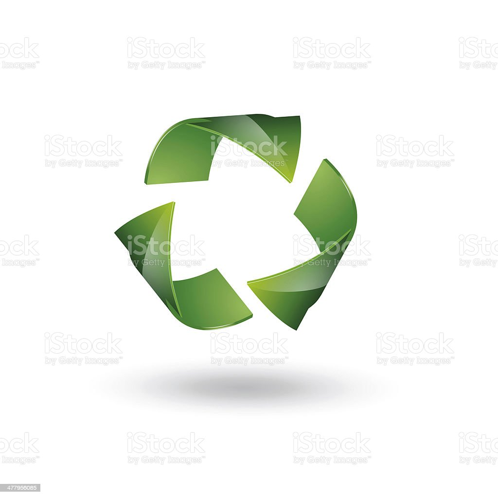 recycling symbol royalty-free stock photo