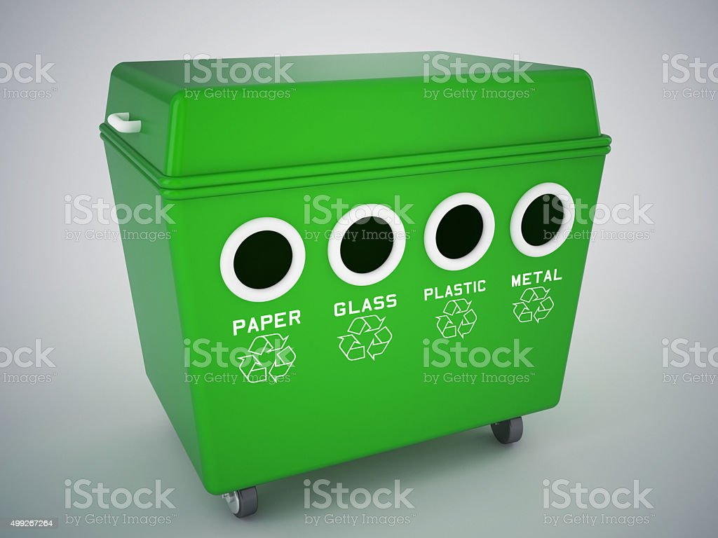 recyling concept stock photo