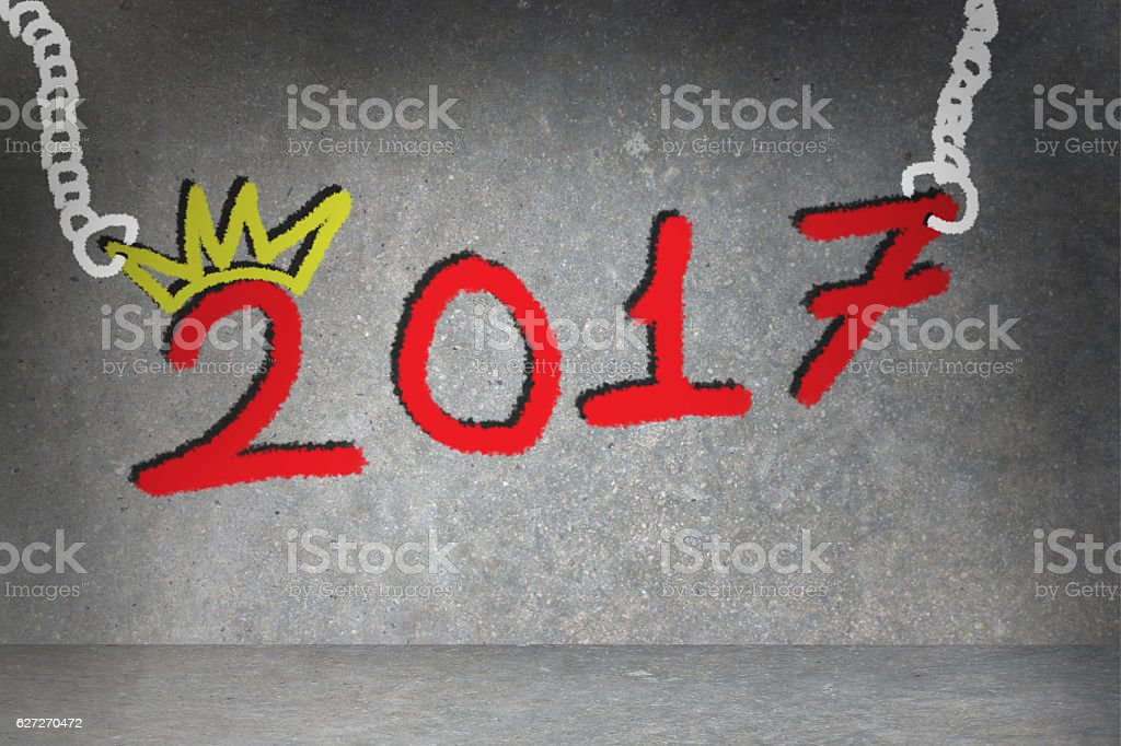 Red 2017 stock photo