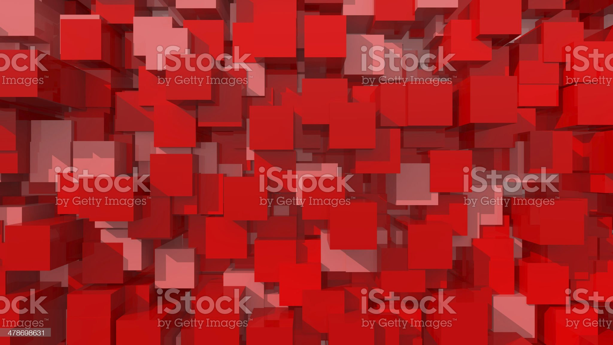 Red 3D Background royalty-free stock photo
