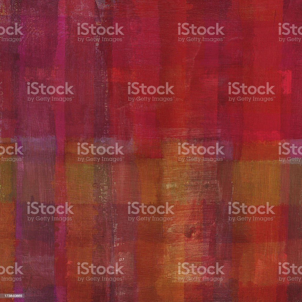 Red Abstract Oil Painting royalty-free stock photo