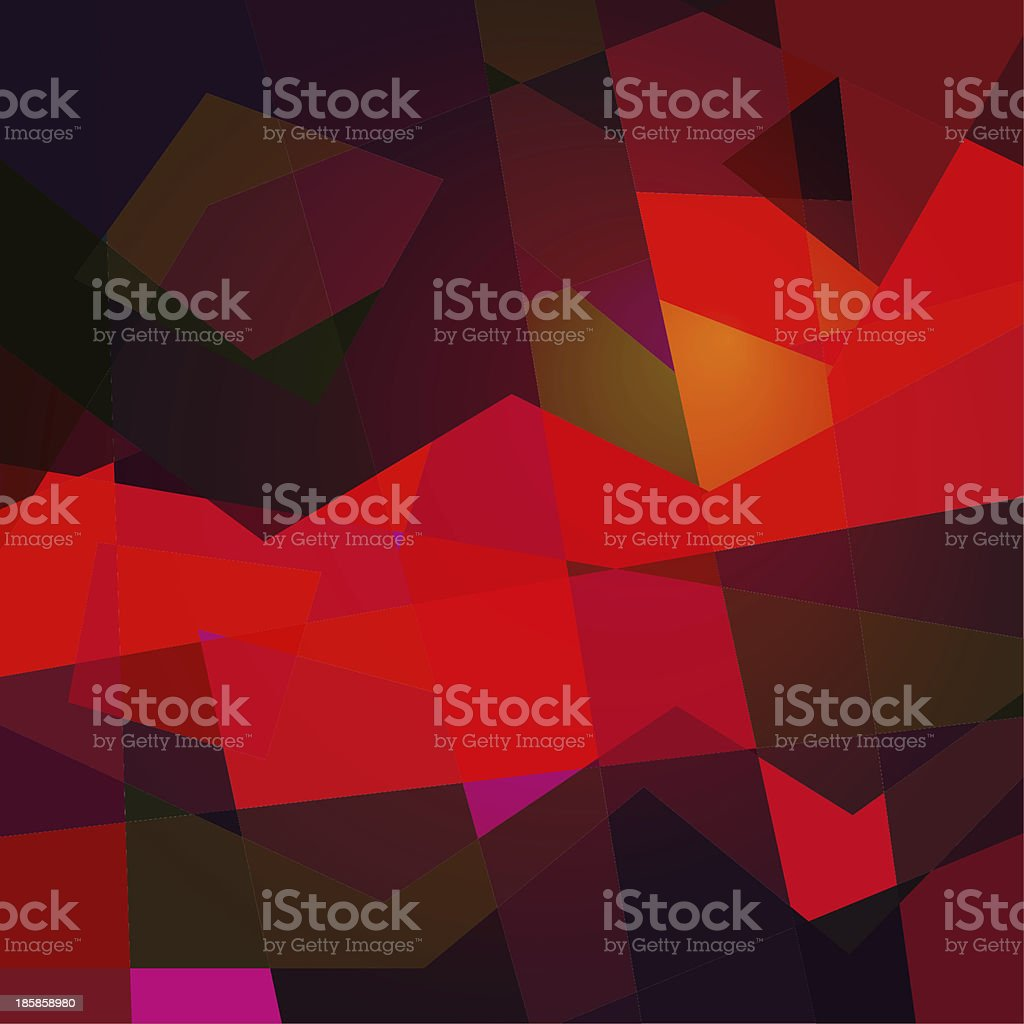 red abstract shape transparency background royalty-free stock photo